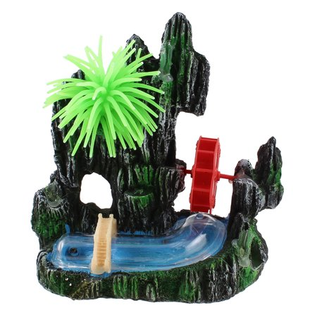 Coral decor artificial underwater rockery for fish tank for Walmart fish decor