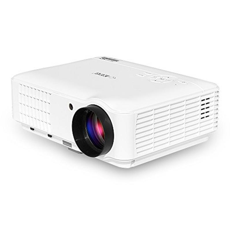 HD LCD Projector WXGA 1080p Support Portable 3500 Lumen H...