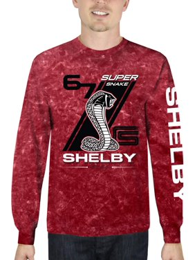 Product Image Shelby Super Snake Men s Long Sleeve Mineral Wash Graphic T- Shirt 9776aed8c0ea