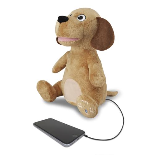Ilive Isb485dogbr Animated Plush Animal Bluetooth[r] Speaker [dog]
