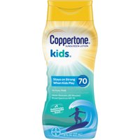 Coppertone Kids Sunscreen Water Resistant Lotion SPF 70, 8 fl oz