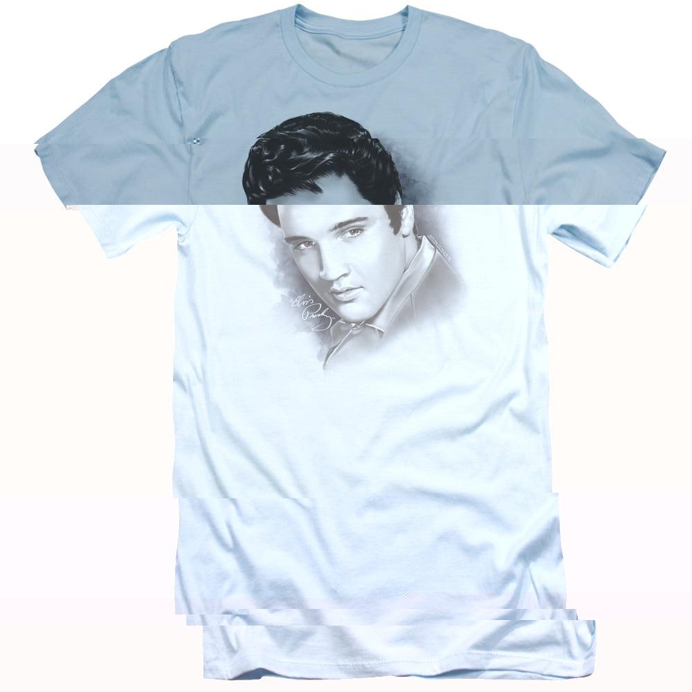 Elvis Presley In Lights Officially Licensed Men/'s Music T-Shirt