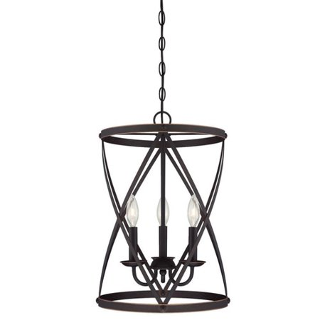 Light Foyer Pendant - Westinghouse Lighting Isadora 3-Light Foyer Pendant