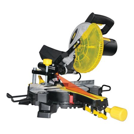 Steel Grip Stationary Compound Mitre Saw 120 volts (Miter Saw Zero Clearance Insert)