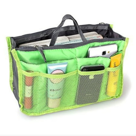 New Women S Purse Organizer Insert Handbag Bag In 2 Pack Green