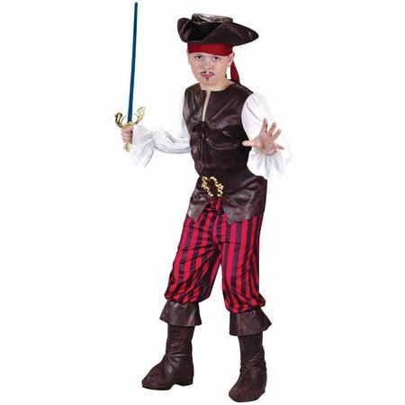 - High Seas Buccaneer Child Halloween Costume