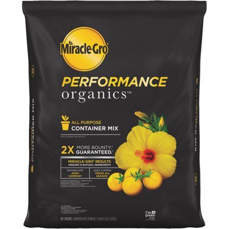Miracle-Gro Performance Organics Container Mix