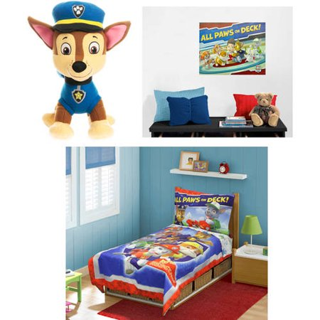 Paw Patrol Bedding And Accessories Value Bundle Walmart Com