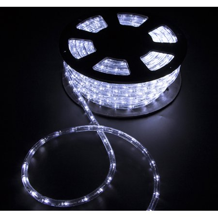 100'ft 2 Wire LED Rope Light Home Party