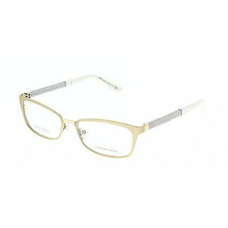 6f06585b955 Jimmy Choo Jimmy Choo 166 0LT5 Matte Light Brown Eyeglasses - Walmart.com