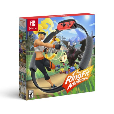 Nintendo Switch, Ring Fit Adventure, Black