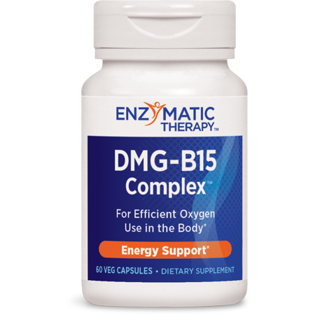 - Enzymatic Therapy DMG-B15-Plus 60 Vegetarian Capsules
