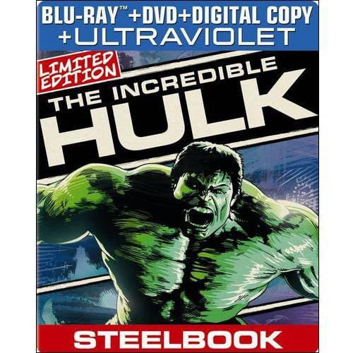 The Incredible Hulk (Blu-ray + DVD + Digital Copy) (Widescreen)