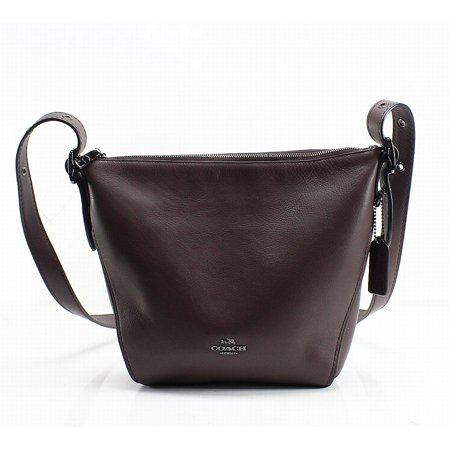 shop for authentic new specials wholesale outlet Coach NEW Red Oxblood Leather Small Dufflette Crossbody Bag Purse