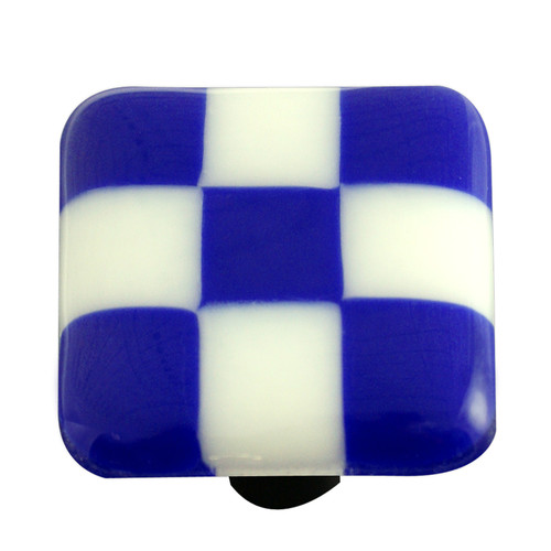 Aquila Art Glass Lil' Squares Square Knob