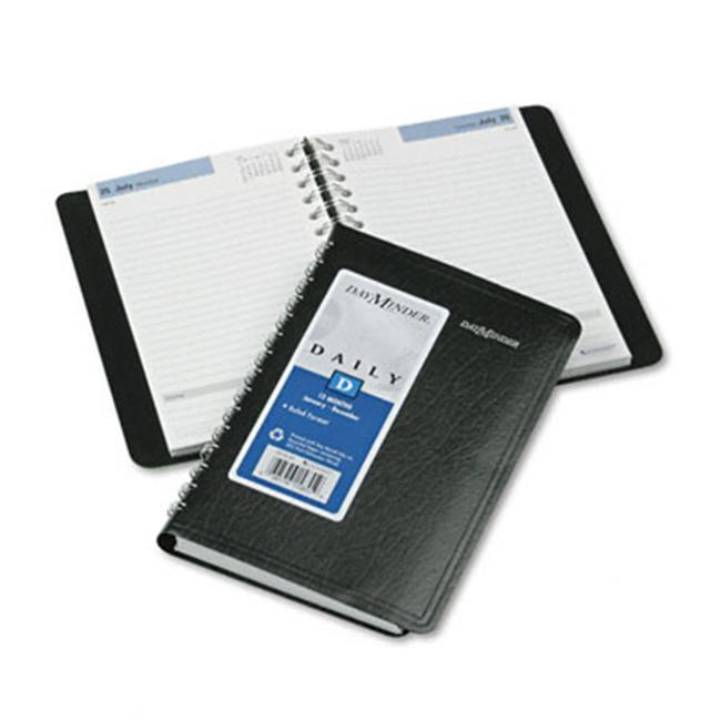 At-A-Glance SK4600 Daily Appointment Book  No Appointment Times  4-7/8 x 8  Black