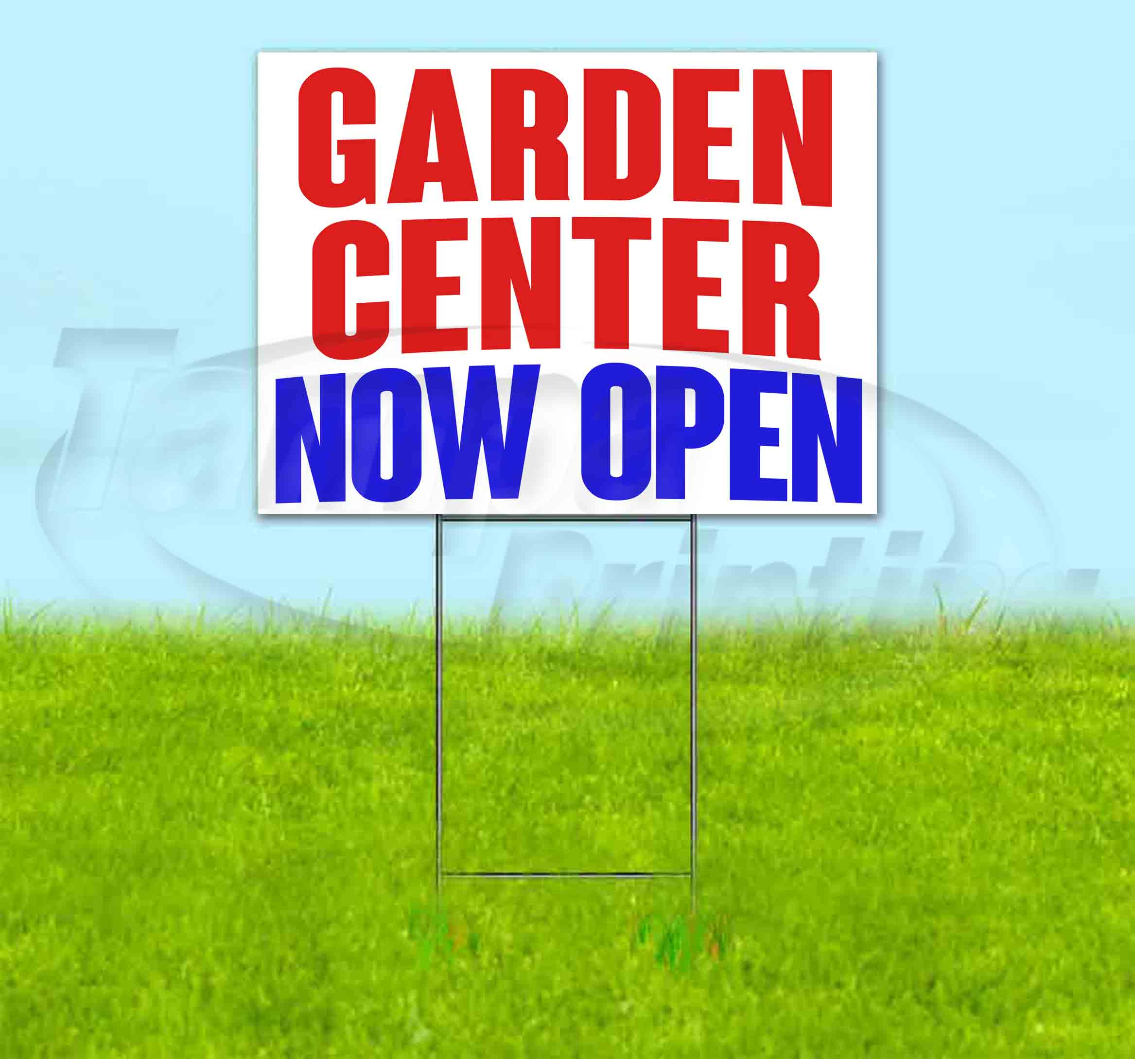 New Lawn Bandit USA Advertising Corrugated Plastic Yard Sign 18x24 Decorations Now Open Under New Management Custom