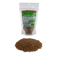 Organic Hard Red Wheat Seed: 8 Oz - Grow Wheatgrass, Ornamental Wheat Grass - Non-GMO, Sprouting Wheat Berries - High Germination