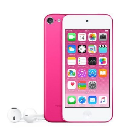 Refurbished B-Grade Apple iPod Touch 16GB Pink 6th Generation MKGX2LL/A