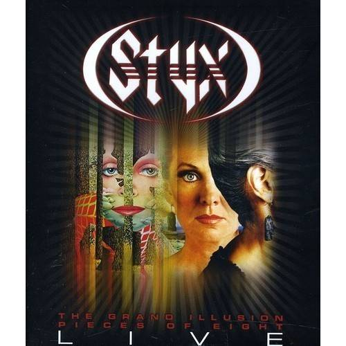 Grand Illusion / Pieces Of Eight Live (Music Blu-ray)