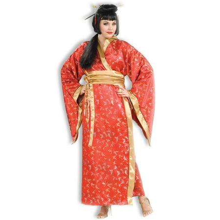 Madame Butterfly Women's Plus Size Adult Halloween Costume, One Size, - Halloween Costumes For Plus Women