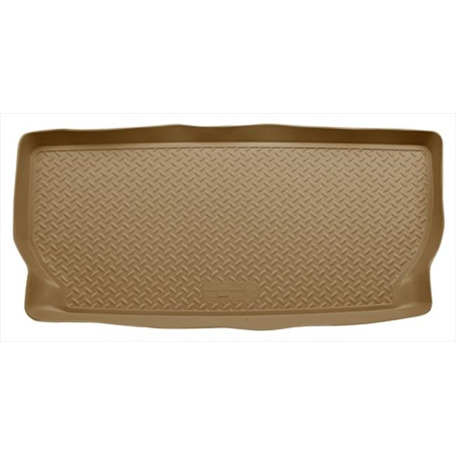 Classic Style Series Thermoplastic Elastomer Tan Cargo Liner Behind 3Rd Seat