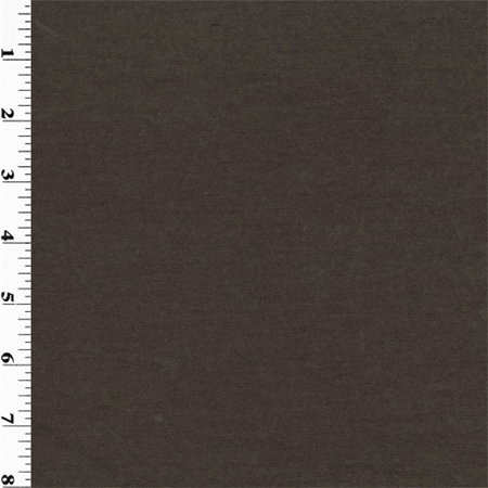 Brown Wool Slub Jersey Fabric By The Yard Walmart Com