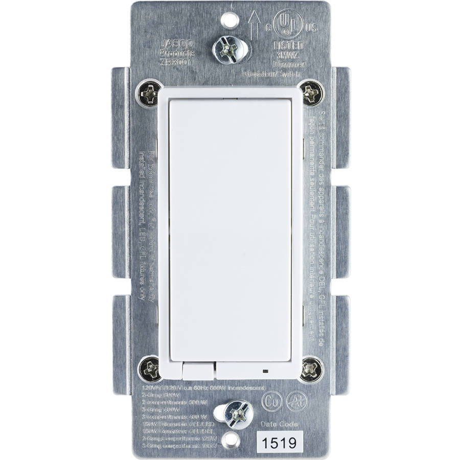 GE ZigBee In-Wall Smart Dimmer, Hub Required