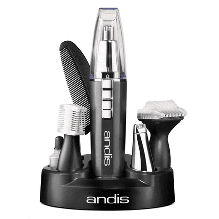Andis FastTrim 2 4-in-1 Battery Trimmer Kit, 9 Pieces