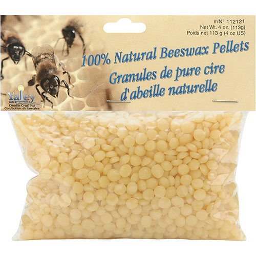 Yaley Beeswax Pellets, 4 oz, 100% Natural