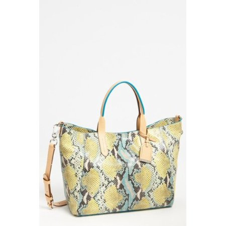 Cole Haan Crosby Large Leather Poolside Snake Crossbody (Cole Haan Leather Hobo Bag)
