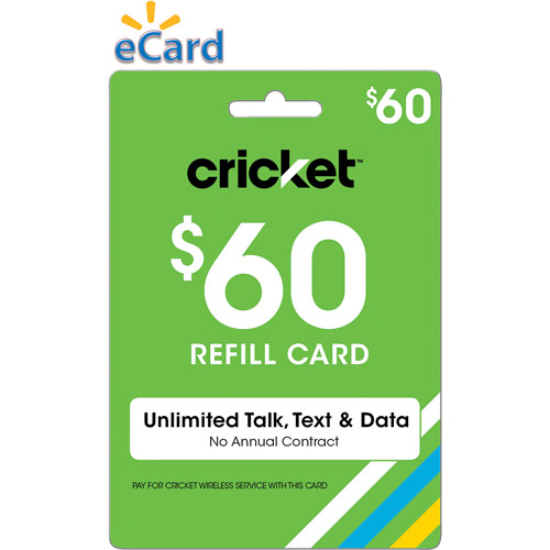 Cricket Wireless Web $60 (Email Delivery)