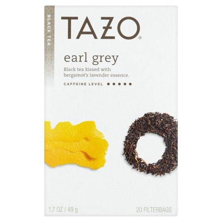 (3 Boxes) Tazo Earl Grey Tea Bags Black Tea 20ct ()