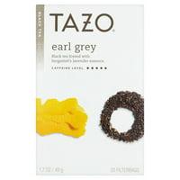(3 Boxes) Tazo Earl Grey Tea Bags Black Tea 20ct