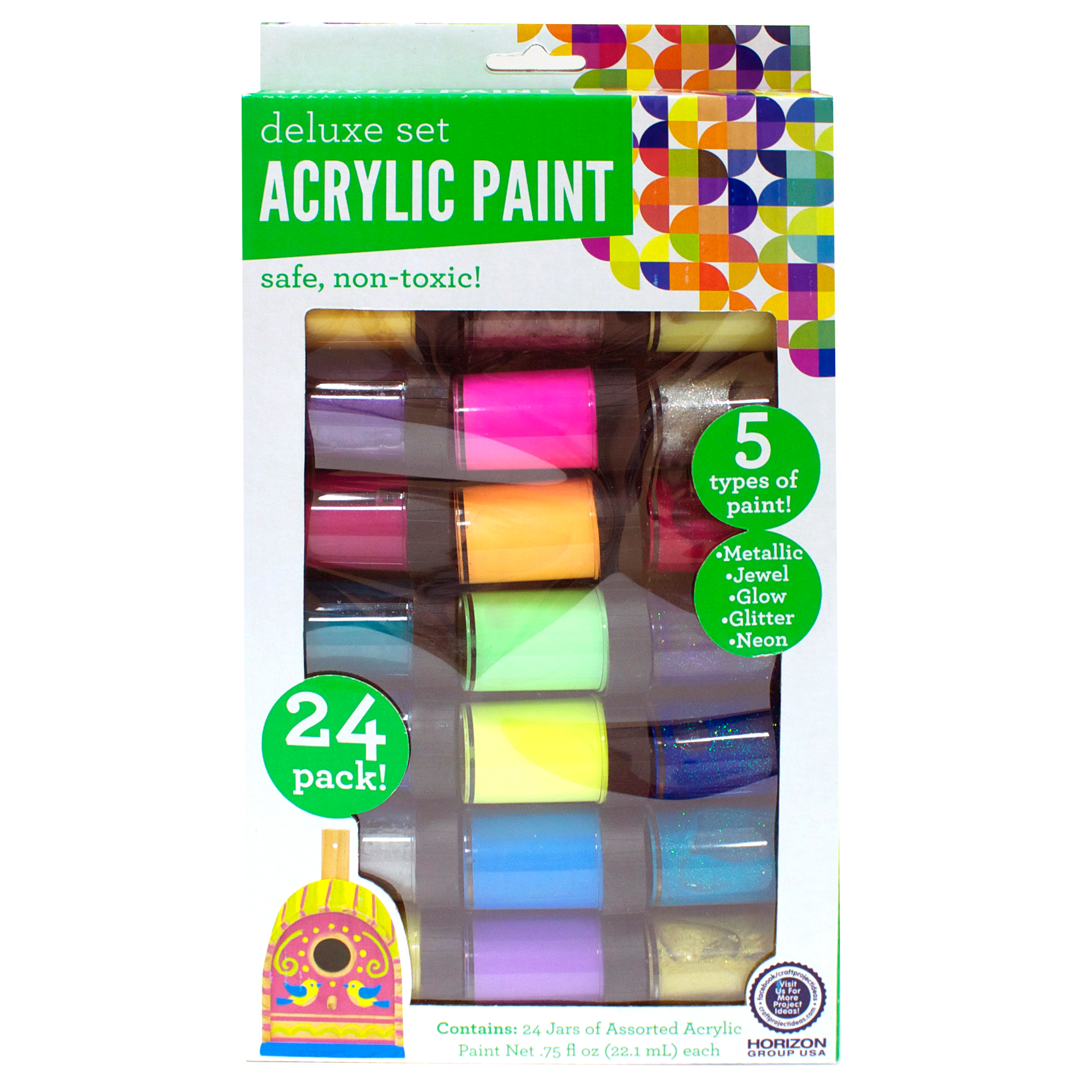 Deluxe Premium Paint Set, 24pk by Horizon Group USA