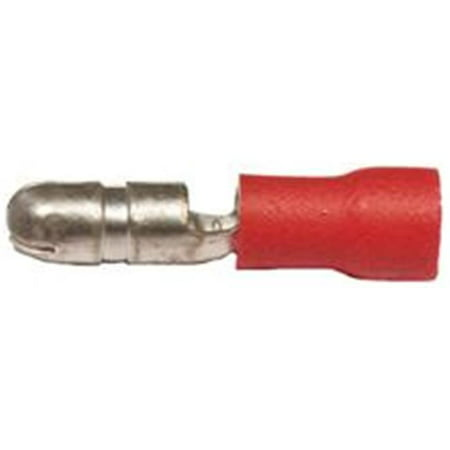Vinyl Insulated Bullet (Vinyl Insulated Bullet Disconnects - 22-16 Wire, .157 Bullet -)