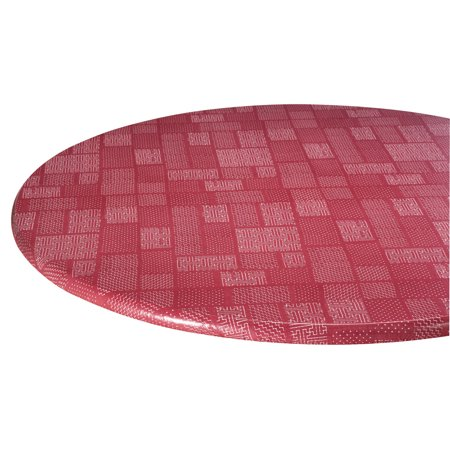 Patchwork Vinyl Elasticized Table Cover by HomeStyle Kitchen 40