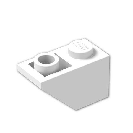 Brick Building Sets Original Lego Parts: Slope, Inverted 45º 2 x 1 (3665 - Pack of 8)