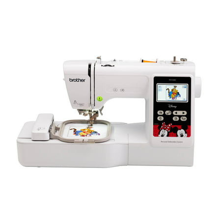 - Brother, PE550D Embroidery Machine with built-in Disney designs