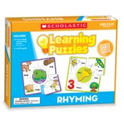 Learning Puzzles: Rhyming Learning Puzzles (Paperback)