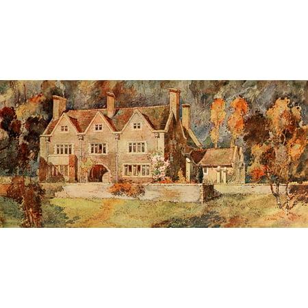 studio 38 1916 house near cheltenham canvas art arnold mitchell 18