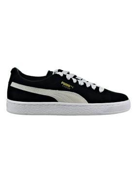75c59a14d85a28 Product Image Puma Suede Jr Big Kid s Shoes Black White 355110-01 (5.5 M US