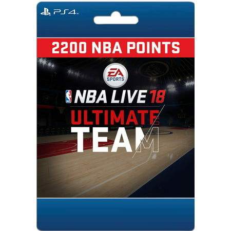 Sony NBA LIVE 18: NBA UT 2200 Points Pack (email delivery)