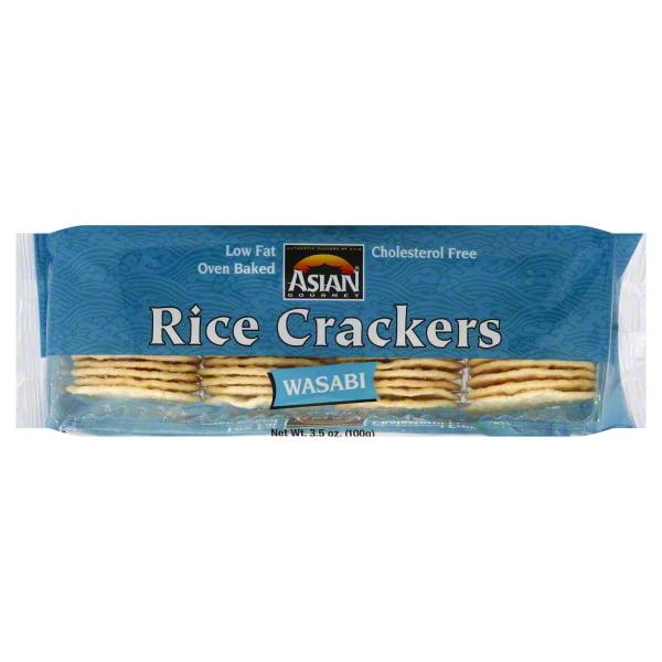Asian Gourmet Ag Rice Cracker Wasabi