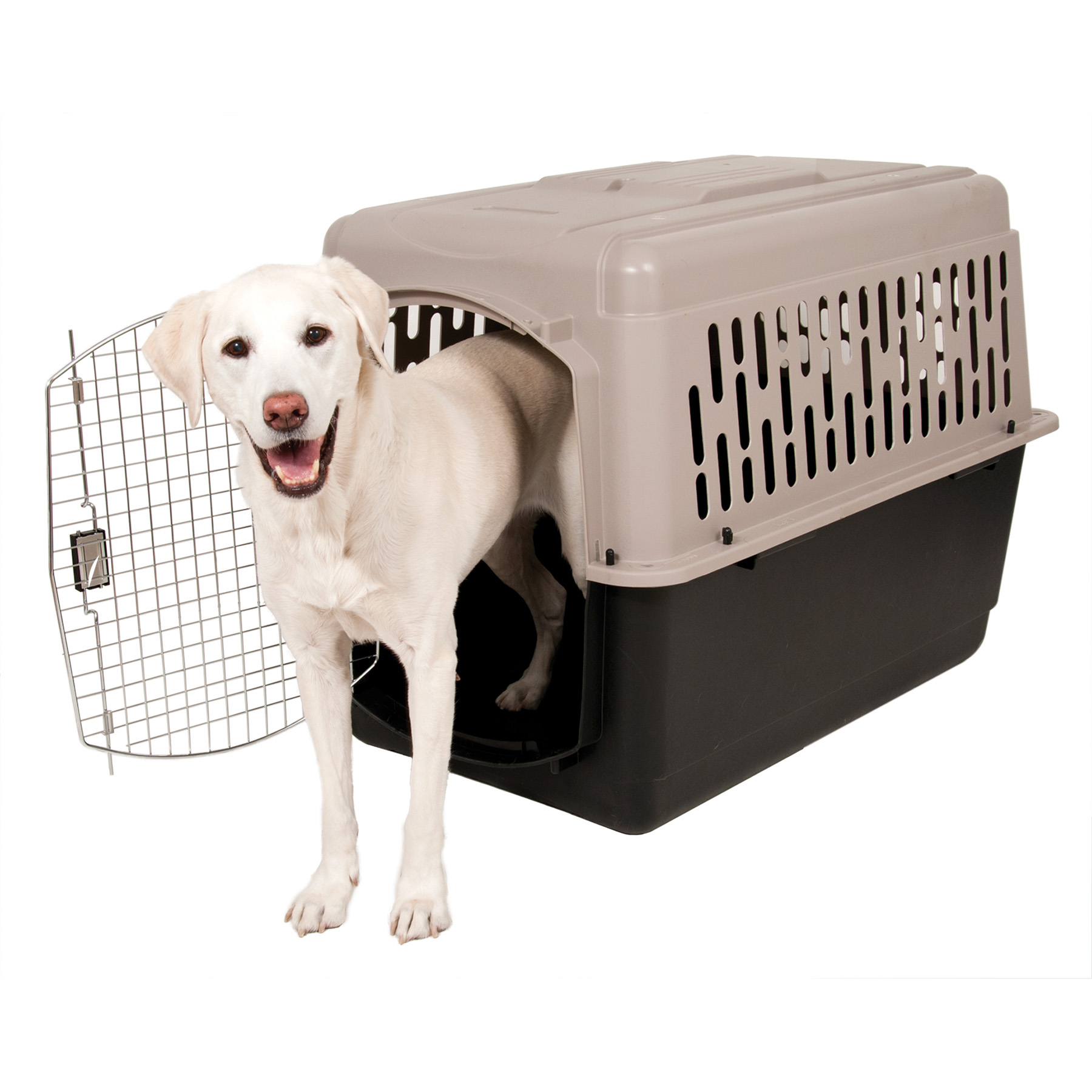 "Doskocil Pet Taxi 40"" Pet Carrier, Extra Large, Beige"