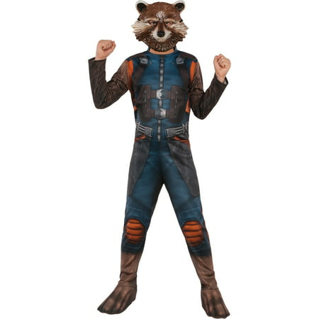 Guardians of the Galaxy Boys Rocket Raccoon Costume (Galaxy Costume)