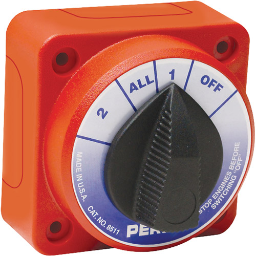 Seachoice Multi Position Compact Battery Selector Switch by Seachoice Products