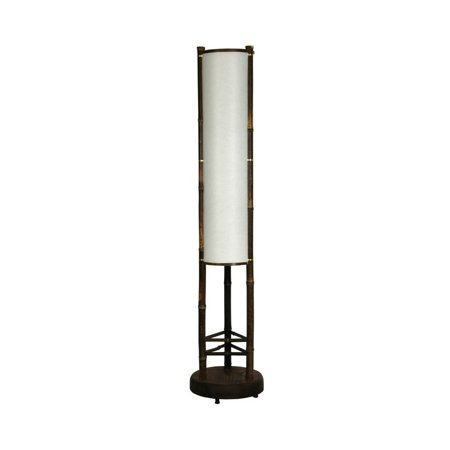 3 Ft Tall Koru Japanese Bamboo Shoji Floor Lamp Walmart Com