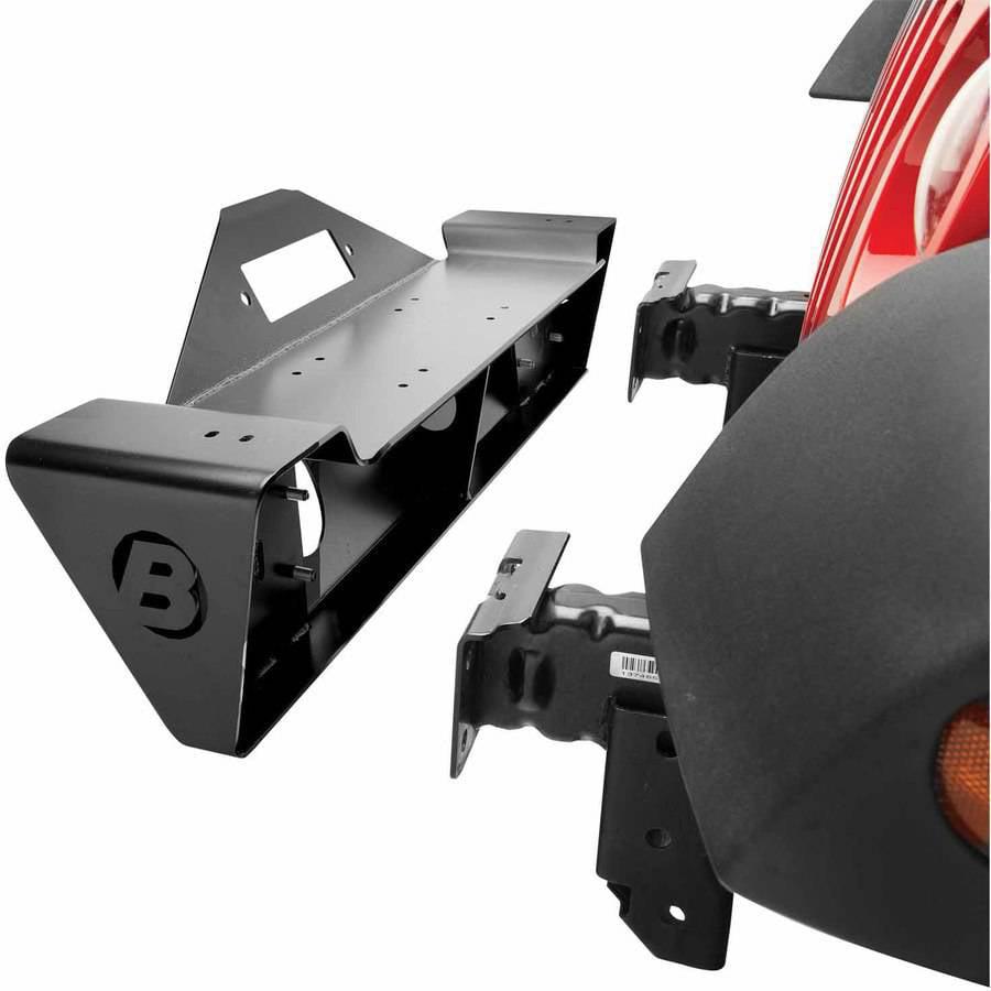 Bestop 44933-01 Wrangler 2-Door/4-Door Highrock 4X4 Front Bumper, Narrow-Profile