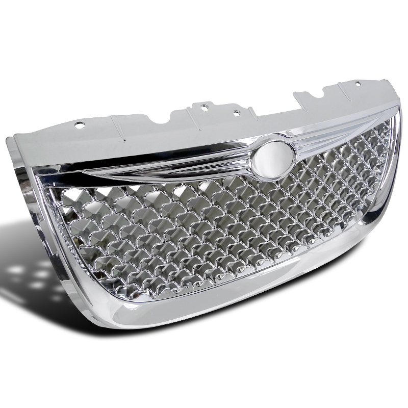 Spec-D 1999-2004 Chrysler 300M Honeycomb Grill Front Hood...